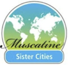 Muscatine Sister City logo