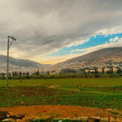 nablus in winter